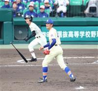 【選抜高校野球】習志野、奥川攻略で8強 竹縄が執念の同点打