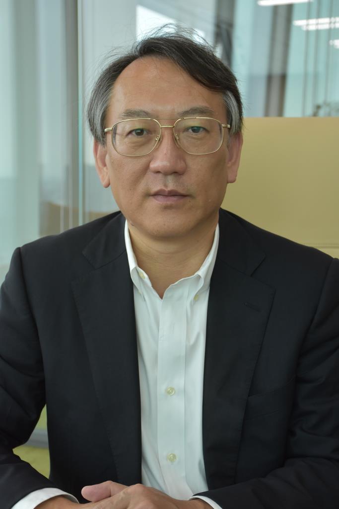 東京財団政策研究所の柯隆主席研究員(三塚聖平撮影)