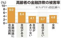 【経済インサイド】金融詐欺、狙われる高齢者は 「知識のある方」が危険