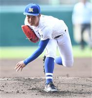 【選抜高校野球】明豊エース若杉、投打の活躍で初の春8強