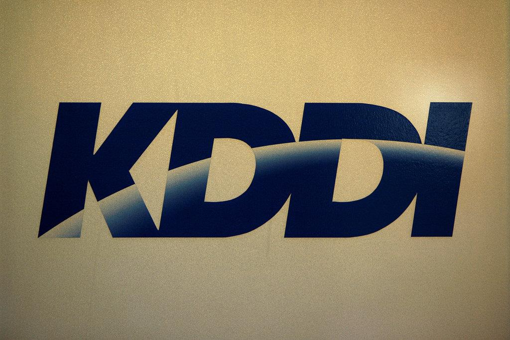 KDDIのロゴ(ロイター)