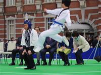 五輪旗ツアーがゴール TOKIO城島茂さん「次は聖火リレー」