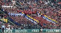 【選抜高校野球】習志野「美爆音」に花を添えるバトン部 伝統のタンバリンを使った応援も披…