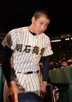来田がサヨナラ本塁打 明石商が初の4強