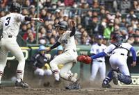 【選抜高校野球】習志野、したたかに逆転 流れを変えた重盗