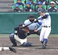 【選抜高校野球】明豊の代打青地、逆転負けも習志野エース飯塚から執念の1点もぎとる
