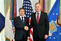 米韓国防相会談 即応態勢の維持を再確認