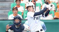 【選抜高校野球】決勝戦速報(1) 東邦が3点を先制 投手の石川が2ラン