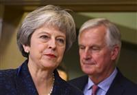 メイ英首相、離脱時期めぐり、短期間の再延期をEUに要請へ
