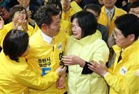 韓国補選、保革引き分け