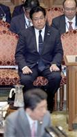 安倍首相、塚田氏の罷免を重ねて拒否 参院決算委質疑