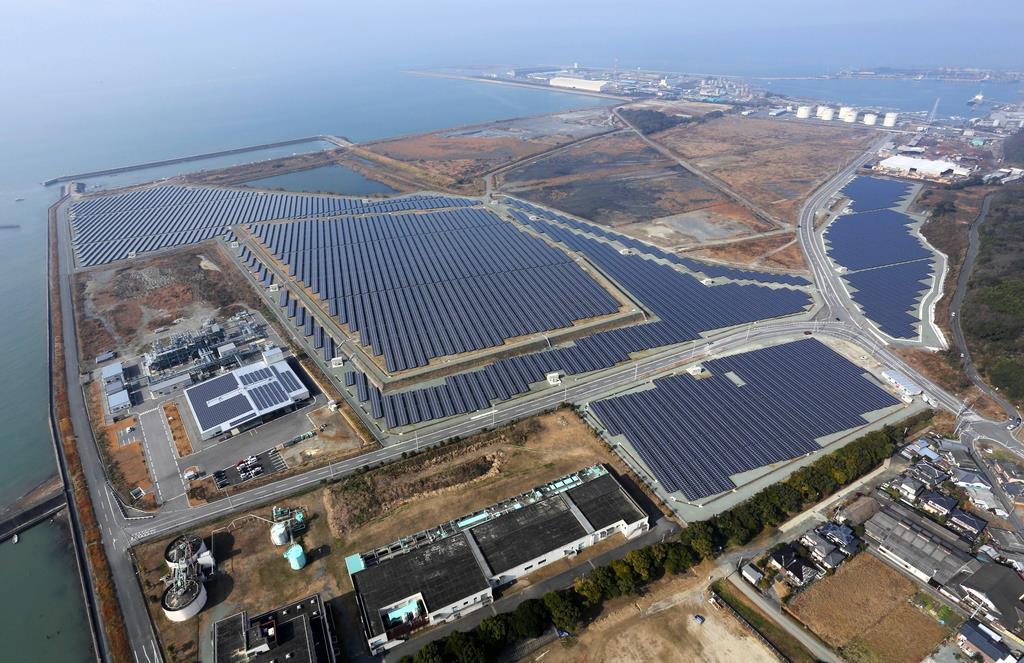 九州電力管内の大規模太陽光発電所(メガソーラー)