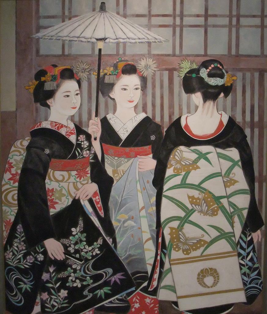 三輪良平「八朔」(京都国立近代美術館)