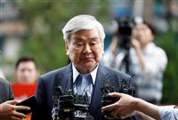 韓進グループ会長、趙亮鎬氏が死去 大韓航空「ナッツ姫」の父