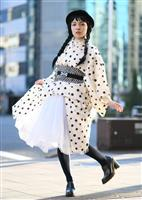 【一聞百見】着物に懸けた 噂のインスタ美女 川原マリアさん(32)/着物デザイナー(図…