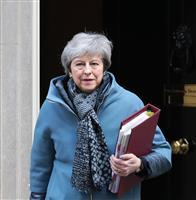 英首相、EU離脱で八方塞がり 労働党は再国民投票迫る
