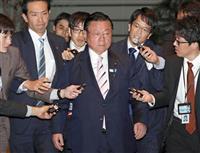 野党、首相の任命責任に照準「桜田氏かばい続けた」