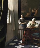 【中山優馬が見たフェルメール】「手紙を書く婦人と召使い」 想像して鑑賞する楽しみ