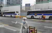 ソウルの日本大使館「建築は調整中」 許可取り消しに菅官房長官