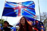 【ロンドンの甃】EU離脱を楽しむ人