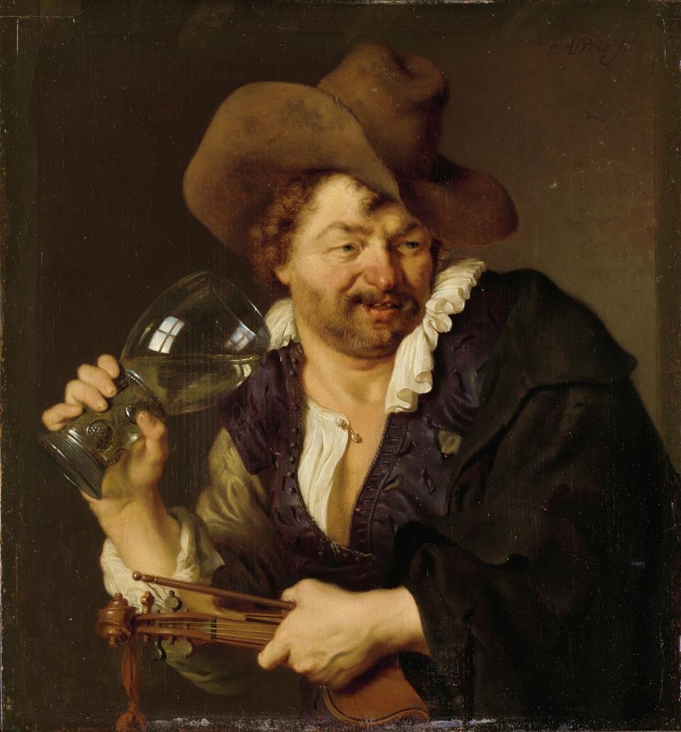 アリ・デ・フォイス≪陽気なバイオリン弾き≫ 1660年ー1680年 アムステルダム国立美術館 Loan from the Rijksmuseum