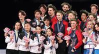 坂本3位、紀平は5位 日本、国別対抗で2位