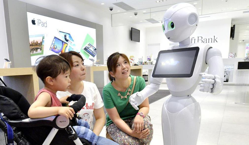 人工知能を搭載したソフトバンクの人型ロボット「ペッパー」