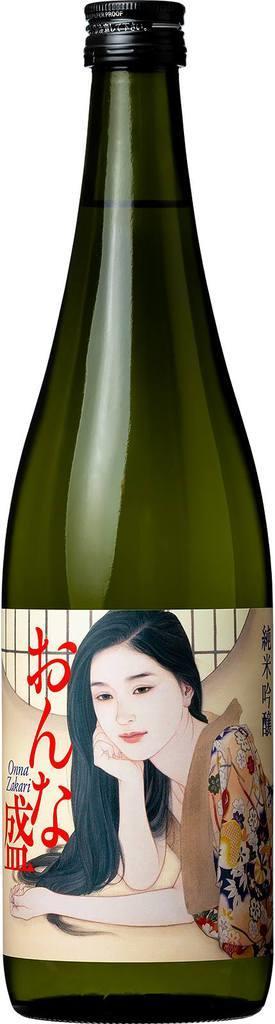 にいがた美醸がつくった記念酒「おんな盛」(にいがた美醸提供)