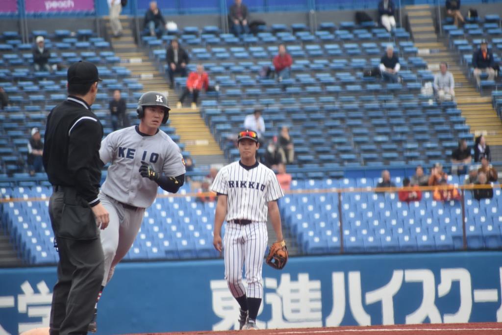 慶大、法大が勝ち点 東京六大学野球第1週