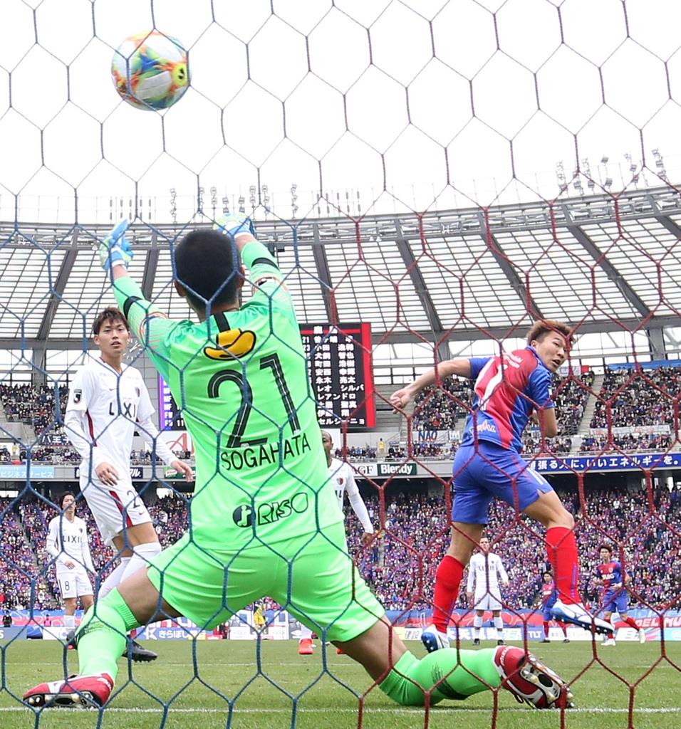 FC東京3発、アジア王者下し無敗守る サッカーJ1
