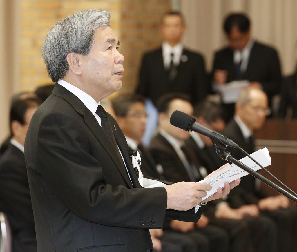 熊本地震、発生から3年 再生誓い273人追悼 知事「住まい再建に全力」