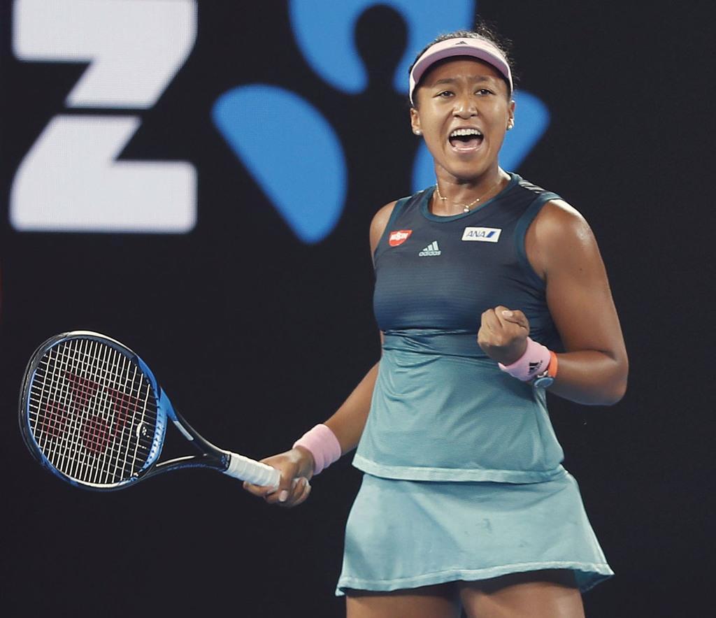 大坂の1位変わらず 女子テニスの世界ランキング