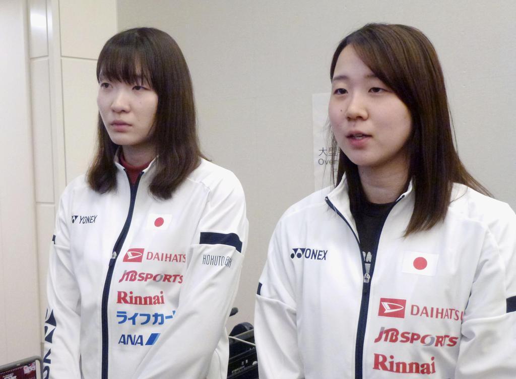 桃田「メンタル面は成長できた」 バドミントン日本代表が帰国