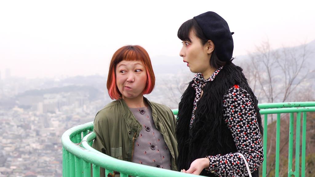 神戸市内でロケが行われた「元町ロックンロールスウィンドル」