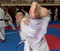 【東京への「切り札」】空手界のプリンス、至近距離から放つ上段蹴り 西村拳(23)