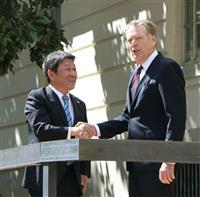 日米貿易交渉 日本、今夏の参院選控え譲歩困難