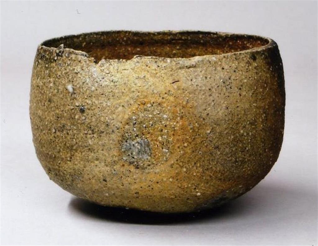 「丹波蛇〆茶碗」(清水万佐年さん作)