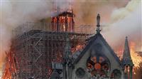 河野外相「修復などで協力したい」ノートルダム大聖堂火災で