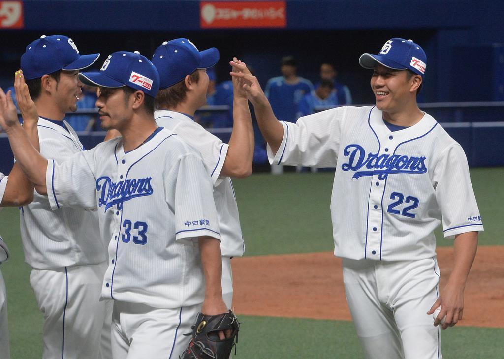 中7-1D 大野雄が2年ぶり白星
