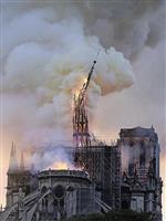 「恐ろしいことだ」米大統領 ノートルダム大聖堂火災