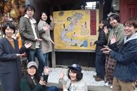 京都・産寧坂周辺の観光案内図、大学生制作