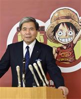 被災地後押しワンピース像 熊本地震復興、8市町村に