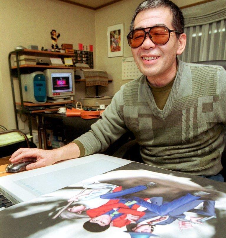漫画家のモンキー・パンチ(本名・加藤一彦)さん