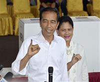 インドネシア大統領選、現職ジョコ氏が優勢