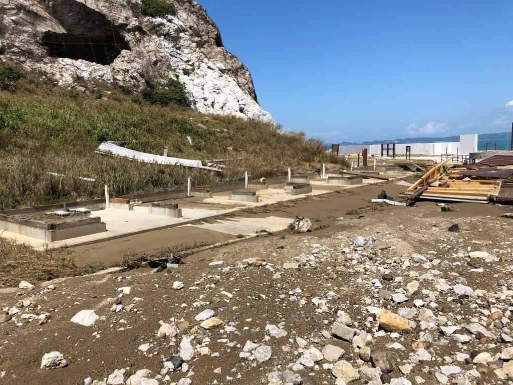 台風被害の和歌山・白崎海洋公園 20日から一部復旧