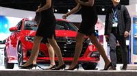市場頭打ち、SUVに注力 NY車ショー、収益性高く