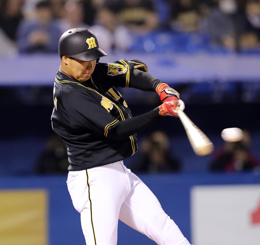 これぞ4番 阪神・大山が2打席連続弾で4打点