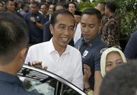 インドネシア選挙 ジョコ氏が勝利宣言