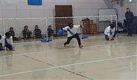 「障害者スポーツの楽しさ知って」 滋賀・守山でゴールボール大会