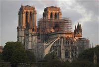 ディズニーが5億円寄付 ノートルダム寺院の修復に